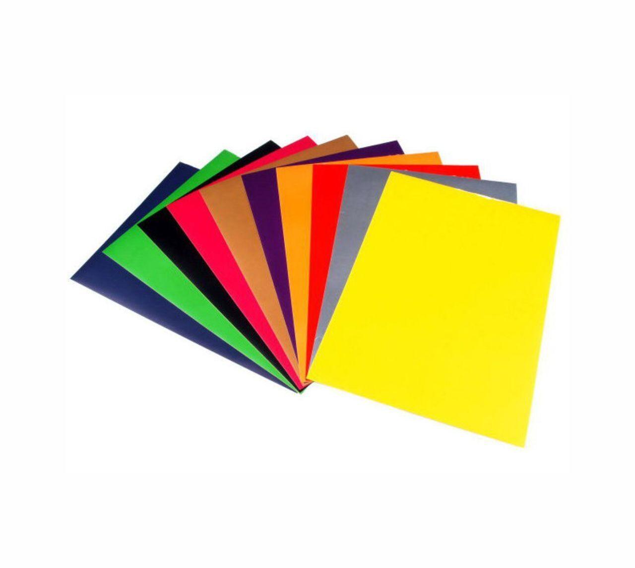 Пленка разноцветная для поделок 28